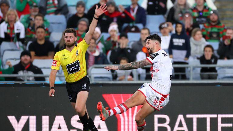 Gareth Widdop made a big impact for St George-Illawarra on his return