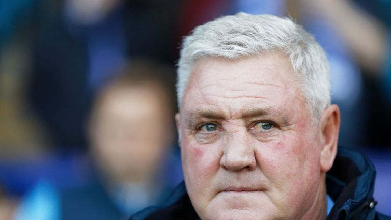 Steve Bruce takes over from Rafa Benitez on a three-year deal at Newcastle