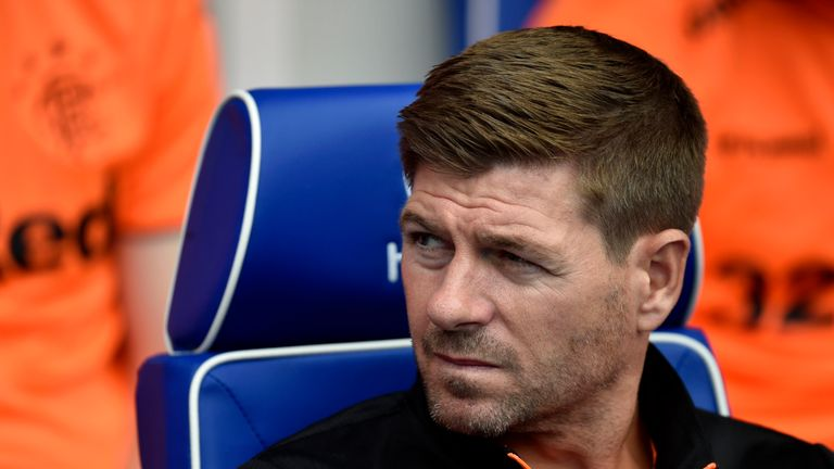 Steven Gerrard says Filip Helander won't make Rangers debut for 'a good few weeks'