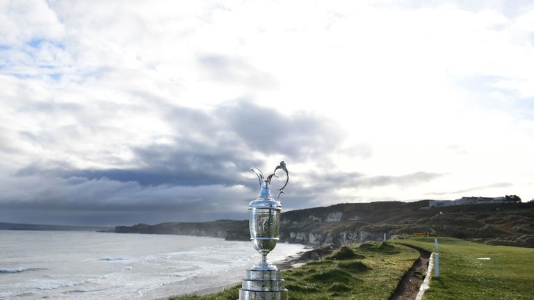 The Claret Jug returns to Portrush for the first time since 1951