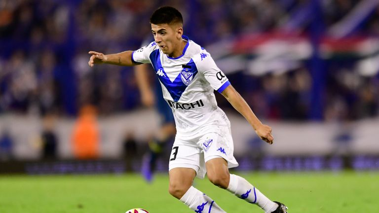 Midfielder Thiago Almada is wanted by Manchester City