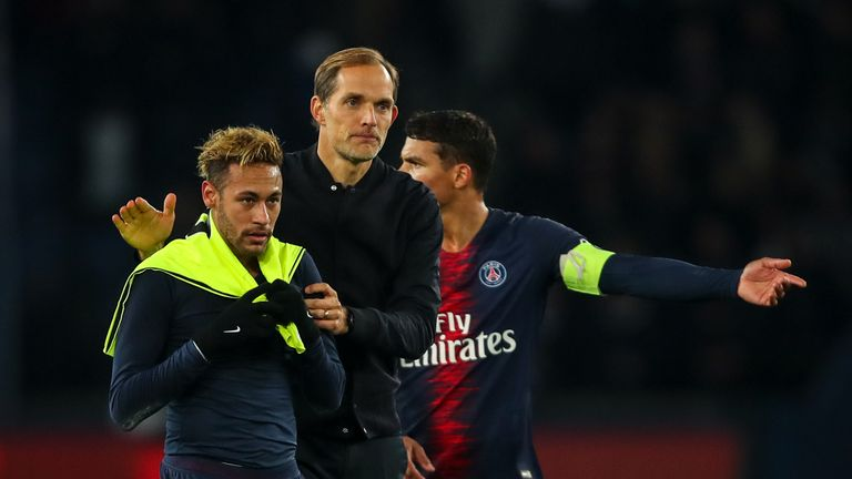 PSG boss Thomas Tuchel has known of Neymar's intentions since early last month