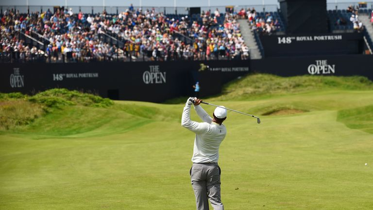 The Open: Royal Portrush attendance second-highest in history