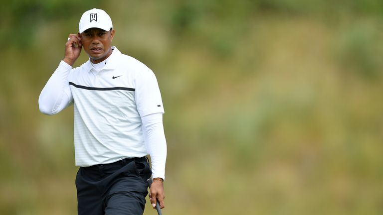 Woods has only played 12 rounds of competitive golf since winning the Masters