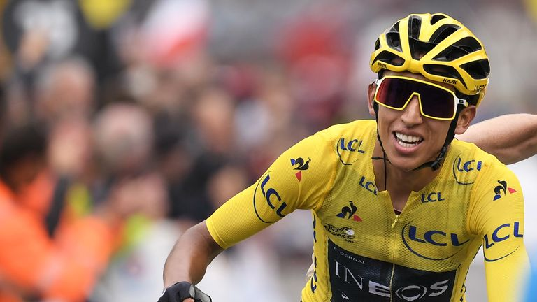 Egan Bernal will become the first Colombian to win the Tour de France