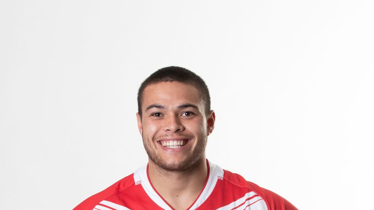 Tui Lolohea flew out to play in Tonga's mid-season Test against New Zealand