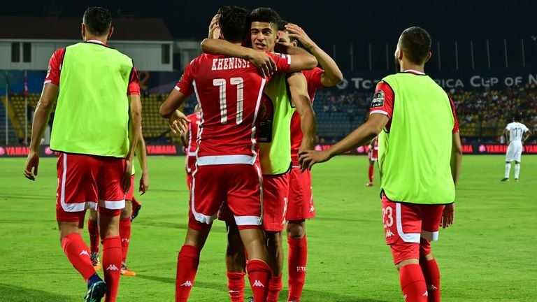 Tunisia came through the drama of a penalty shootout to secure the final quarter-final spot at the Africa Cup of Nations