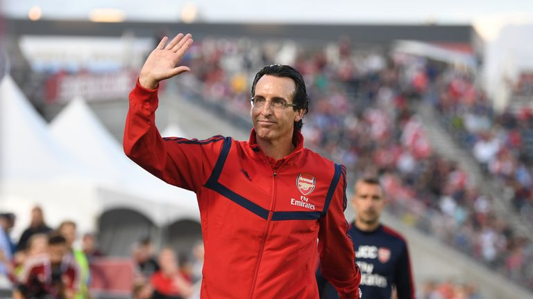 Arsenal boss Unai Emery admitted the club are working on 'very big, very expensive' signings
