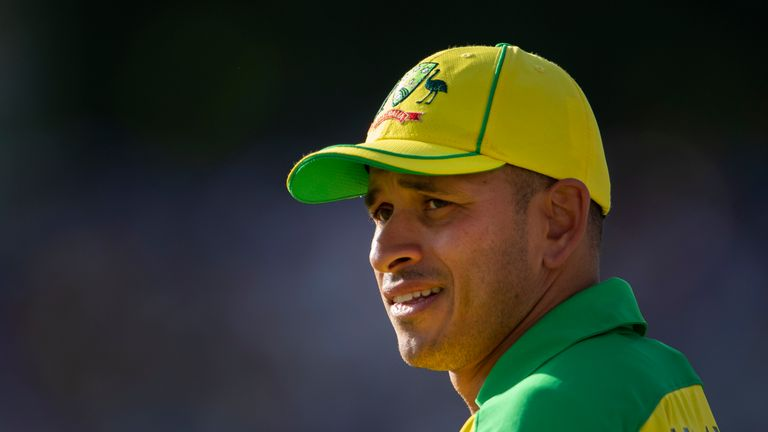 Usman Khawaja is out of the World Cup with a hamstring problem