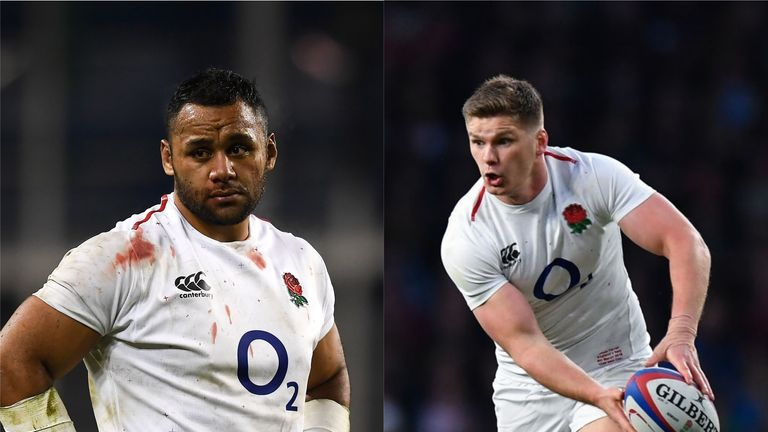 Owen Farrell and Billy Vunipola: England's World Cup failure in 2015 will drive us in 2019