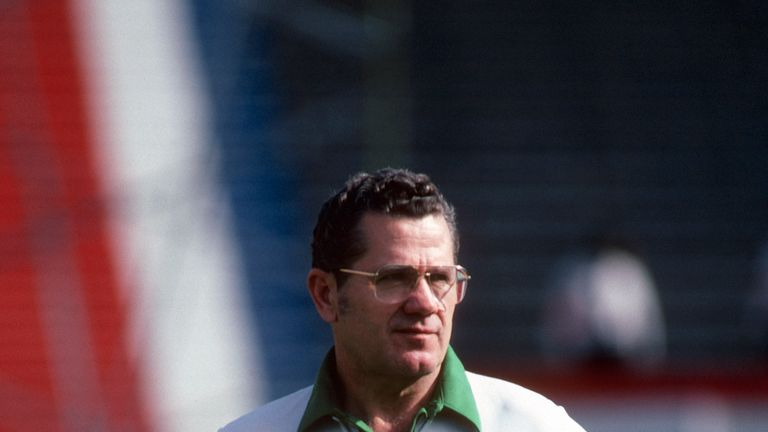 Walt Michaels coached the New York Jets for six seasons