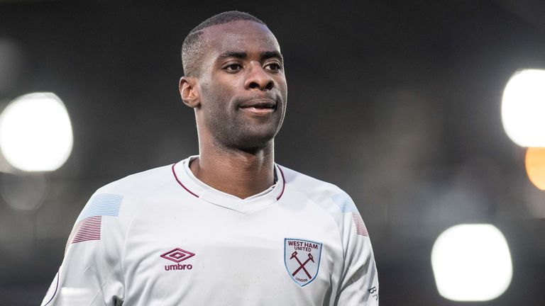 Pedro Obiang made 116 appearances for the Hammers across four seasons