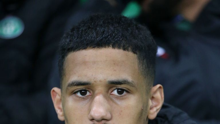 William Saliba made 19 appearances for St Etienne last season