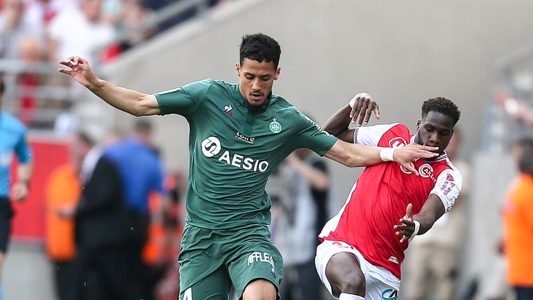 William Saliba is close to joining Arsenal from Saint-Etienne