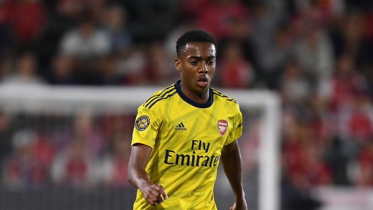 Joe Willock stepped up to a starting place in the Arsenal first team after impressing in cup competitions last season