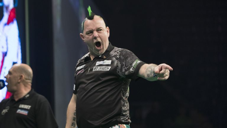 Peter Wright is bidding to win his fifth PDC title in the space of two months