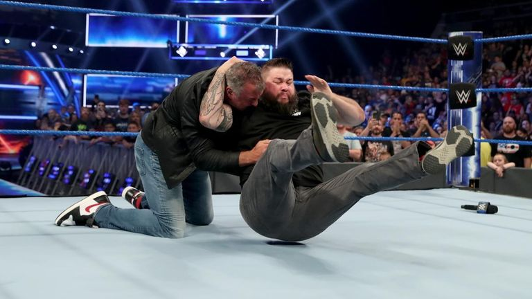Kevin Owens has adopted his own version of the Stone Cold Stunner
