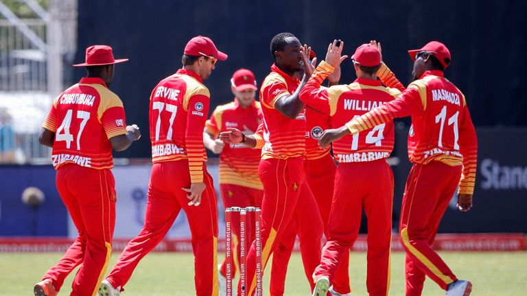 Zimbabwe were due to compete in the men's World T20 qualifiers in the autumn