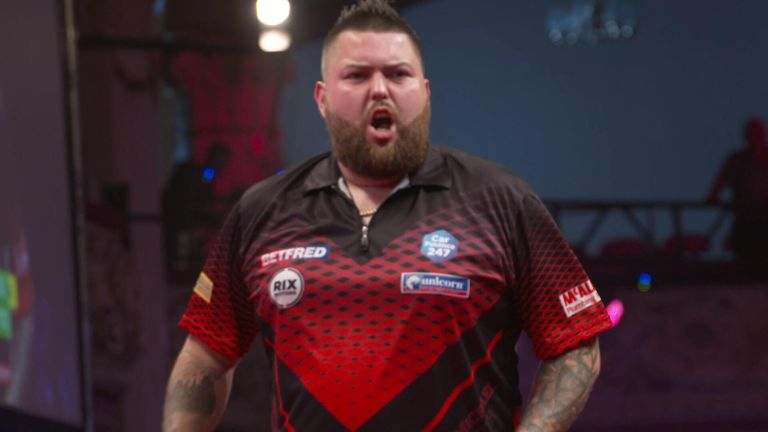 Michael Smith could rise to third in the world with victory over 'Voltage'