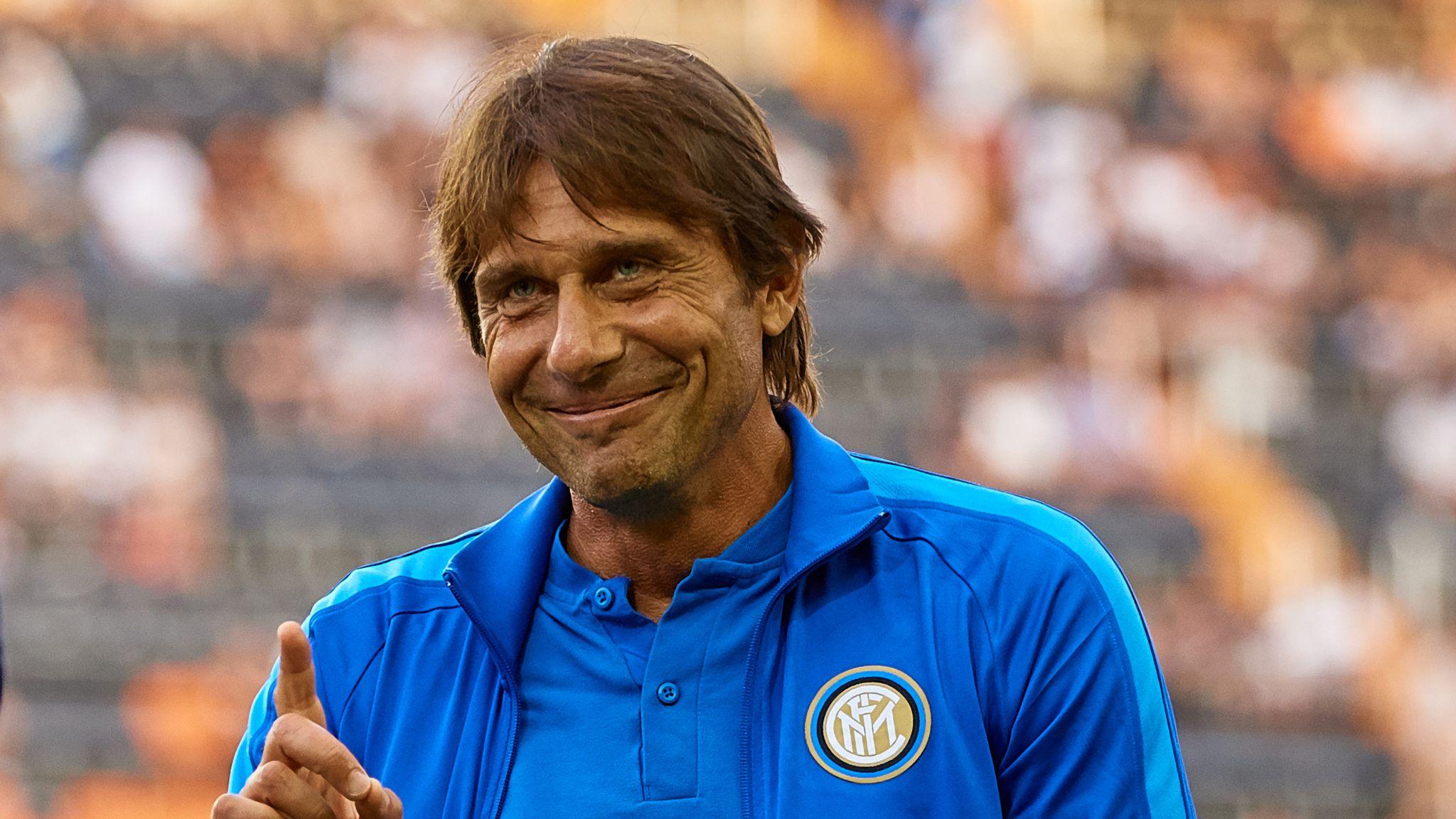 Christian Eriksen and Olivier Giroud: Inter Milan director in London for transfer talks