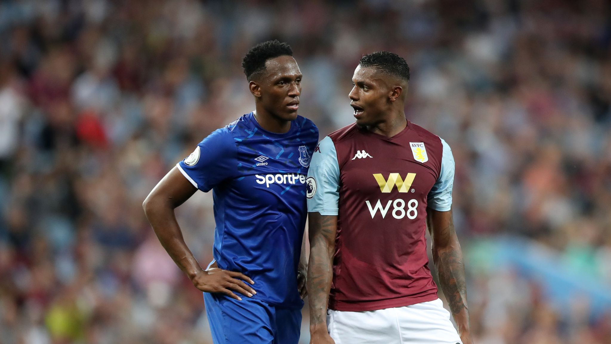 Aston Villa's Wesley: How being a dad at 14 motivated me