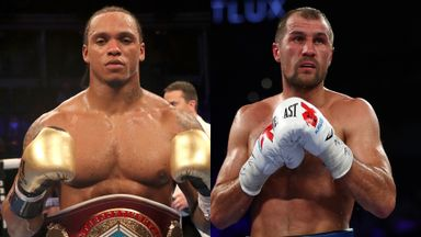 Yarde (L) was KO'd after almost stopping Kovalev