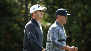 Justin Thomas and Brooks Koepka are among the contenders for FedExCup victory