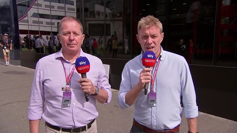 Simon Lazenby and Martin Brundle look ahead to this weekend's Belgian GP from Spa.