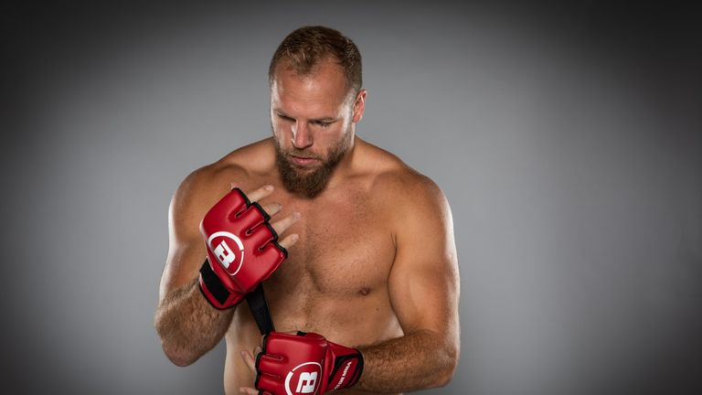 Former England international James Haskell tells us why he's joined the world of MMA and when his debut fight will be for Bellator
