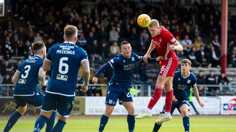 Aberdeen's Sam Cosgrove scored the winning goal in extra-time