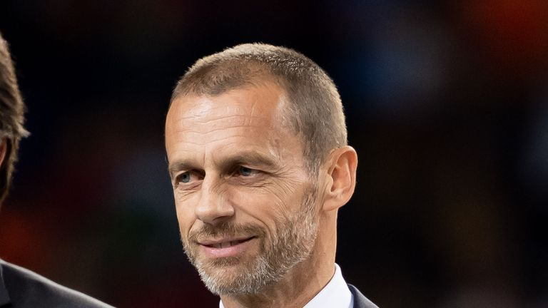 UEFA president Aleksander Ceferin has called off talks with European clubs and leagues over the future of competitions