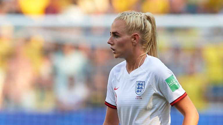 Injured Alex Greenwood and Fran Kirby out of England squad