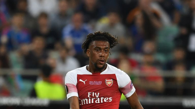 Iwobi scored 15 goals in 148 appearances for Arsenal