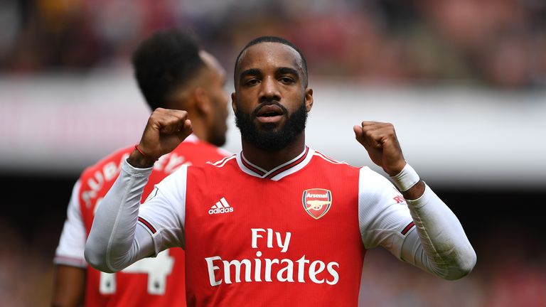 Alexandre Lacazette on brink of Arsenal training return