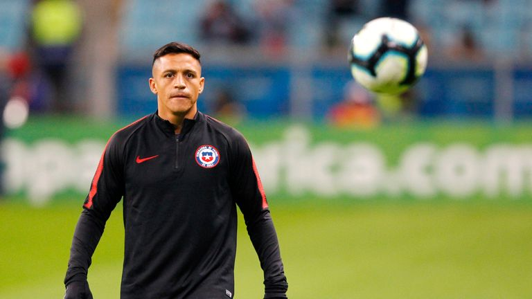 Alexis Sanchez is wanted by Inter Milan