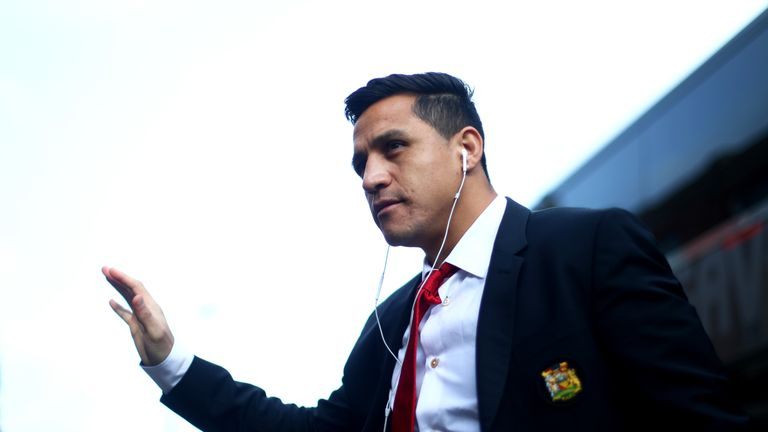 Alexis Sanchez struggled to find his best form for Manchester United