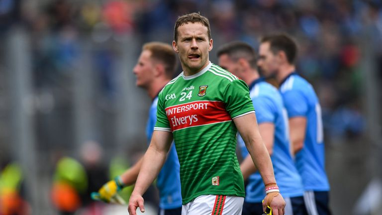 Moran played senior football with Mayo since 2004