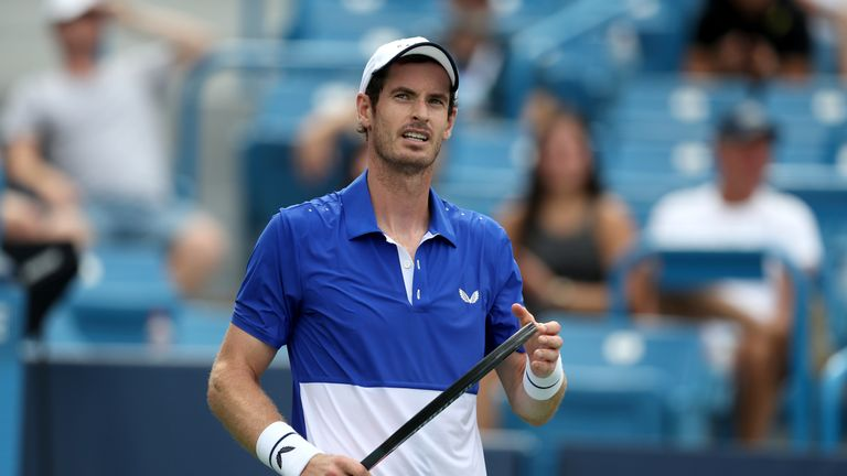 Andy Murray has accepted a wildcard into the Winston-Salem Open