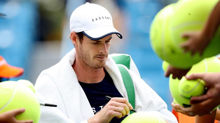 Andy Murray is stepping up his return to the singles court after suffering a defeat to his brother in doubles action on Friday