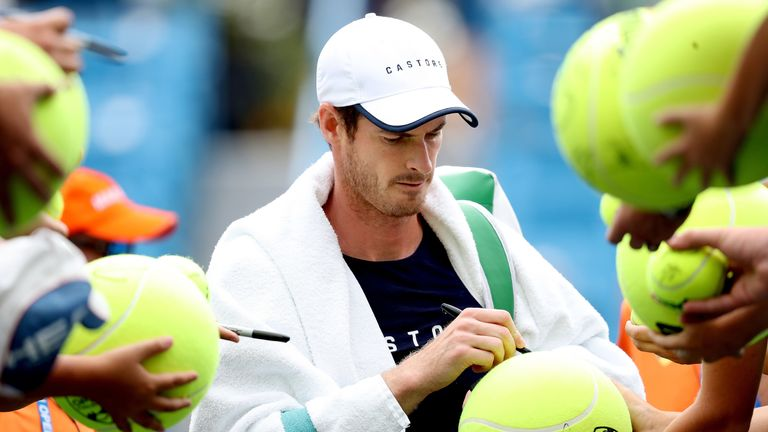 Murray hopes to be at the peak of his powers by the time the Australian Open comes around