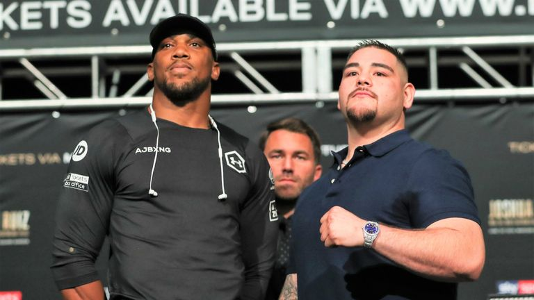Anthony Joshua has agreed a rematch with Andy Ruiz Jr
