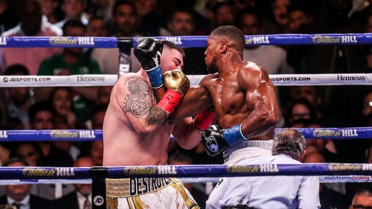 The Andy Ruiz Jr vs Anthony Joshua rematch will take place on December 7, live on Sky Sports Box Office