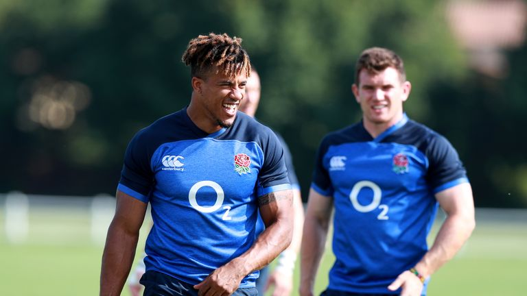Anthony Watson says England must play without fear of injury against Italy
