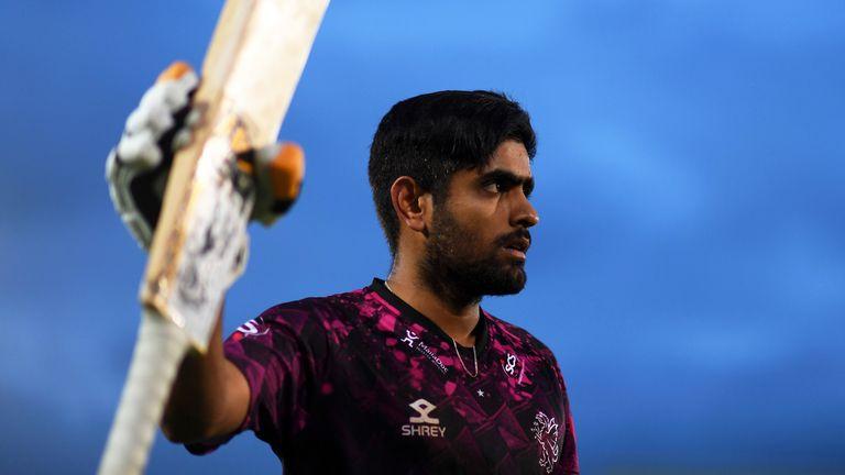 Babar Azam hits ton as Somerset beat Hampshire in Vitality Blast