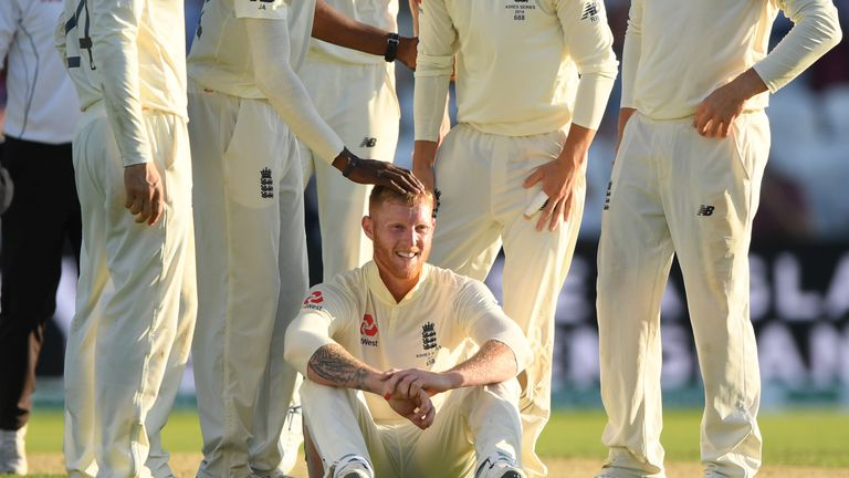 Stokes also starred with the ball in Australia's second innings, taking 3-56