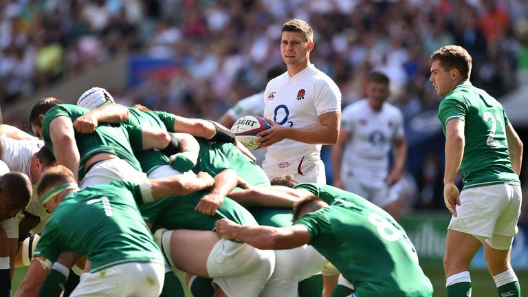 Ben Youngs was not at his best for England against Ireland