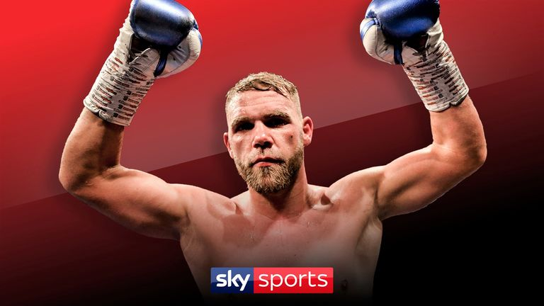 Billy Joe Saunders signs promotional deal with Eddie Hearn's Matchroom Boxing | Boxing News |