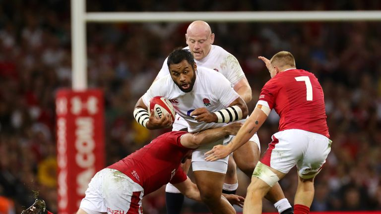 Billy Vunipola played a role in swinging the momentum in the second half