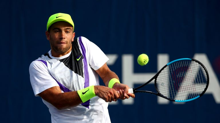 Borna Coric withdraws from US Open due to back strain