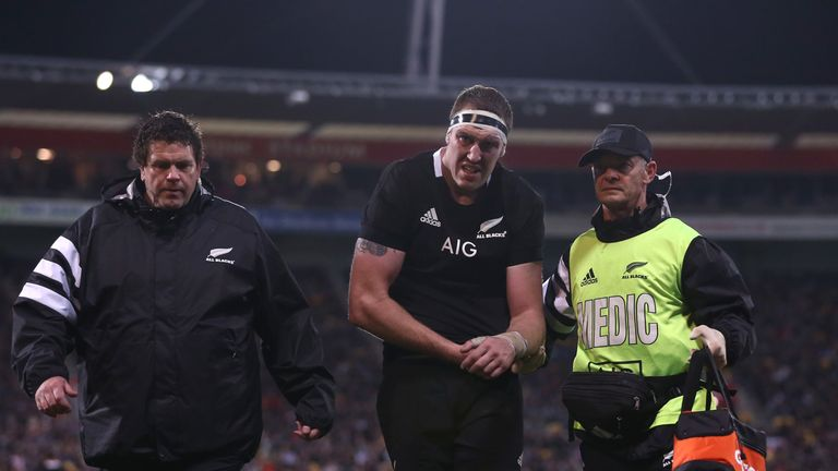 Brodie Retallick has recovered from the dislocated shoulder suffered against South Africa in July